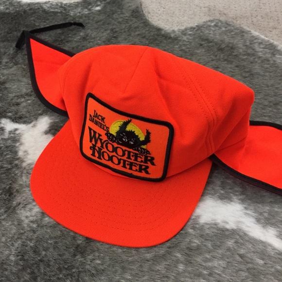 Vintage New Era Jack Daniels Wyooter Hooter Hat. M 5b1ca83d0cb5aa7a3b19e470 087bc05d6188